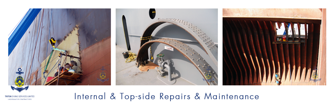 World wide Internal and Top-side Repair and Maintenance