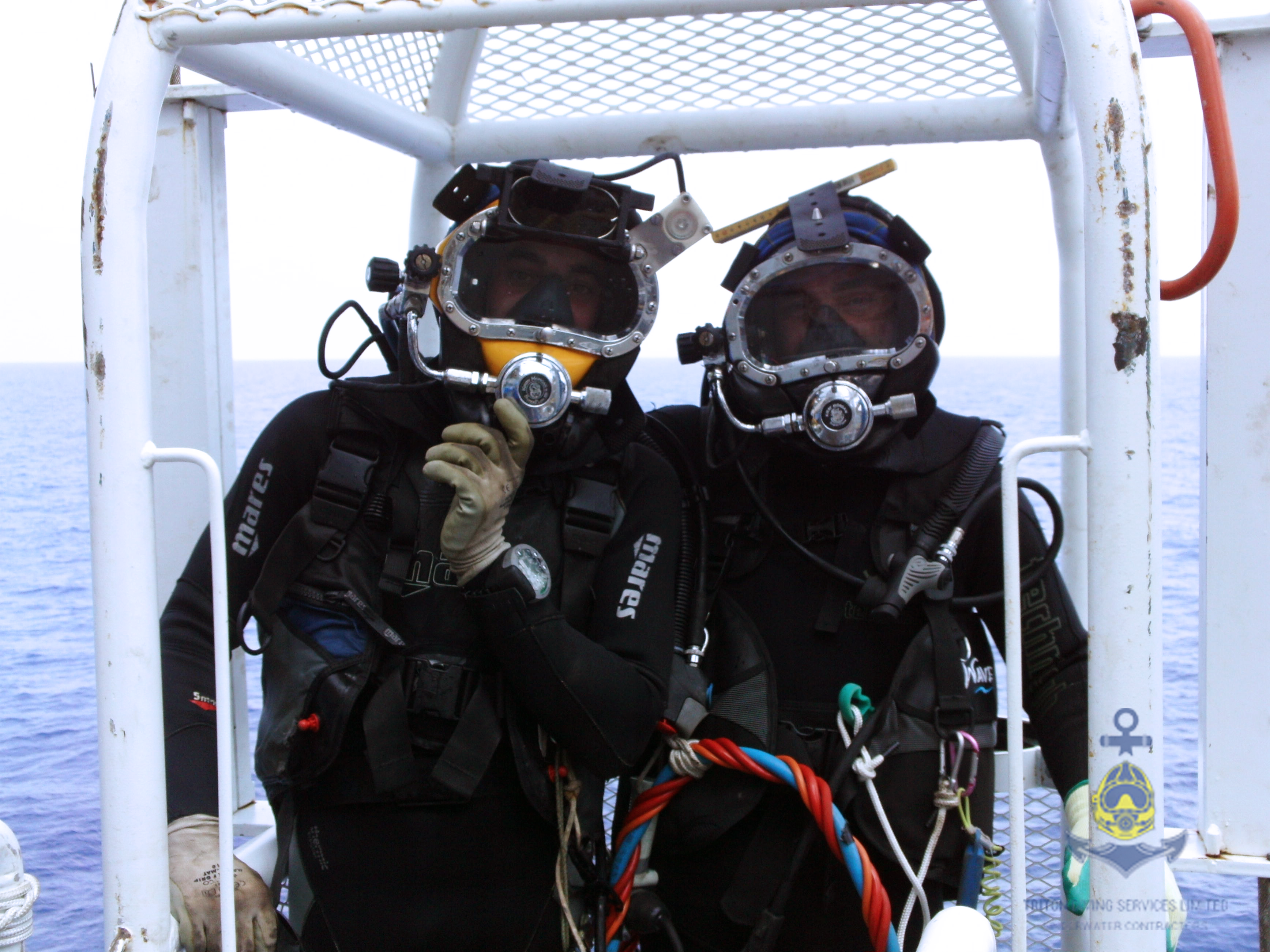 Offshore work by Triton Diving Services