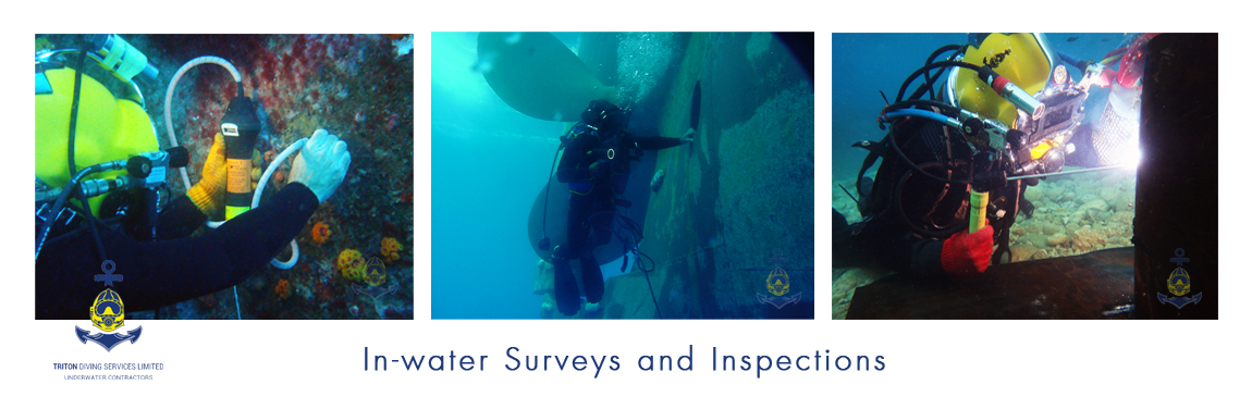 Underwater inspections by professionals