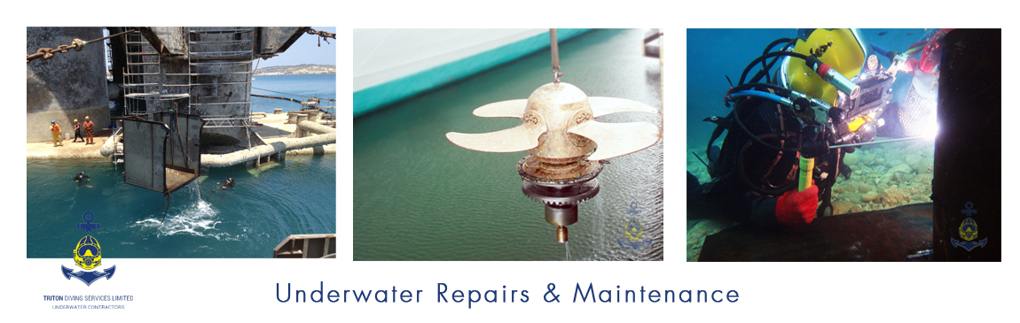 Underwater Repair & Maintenance