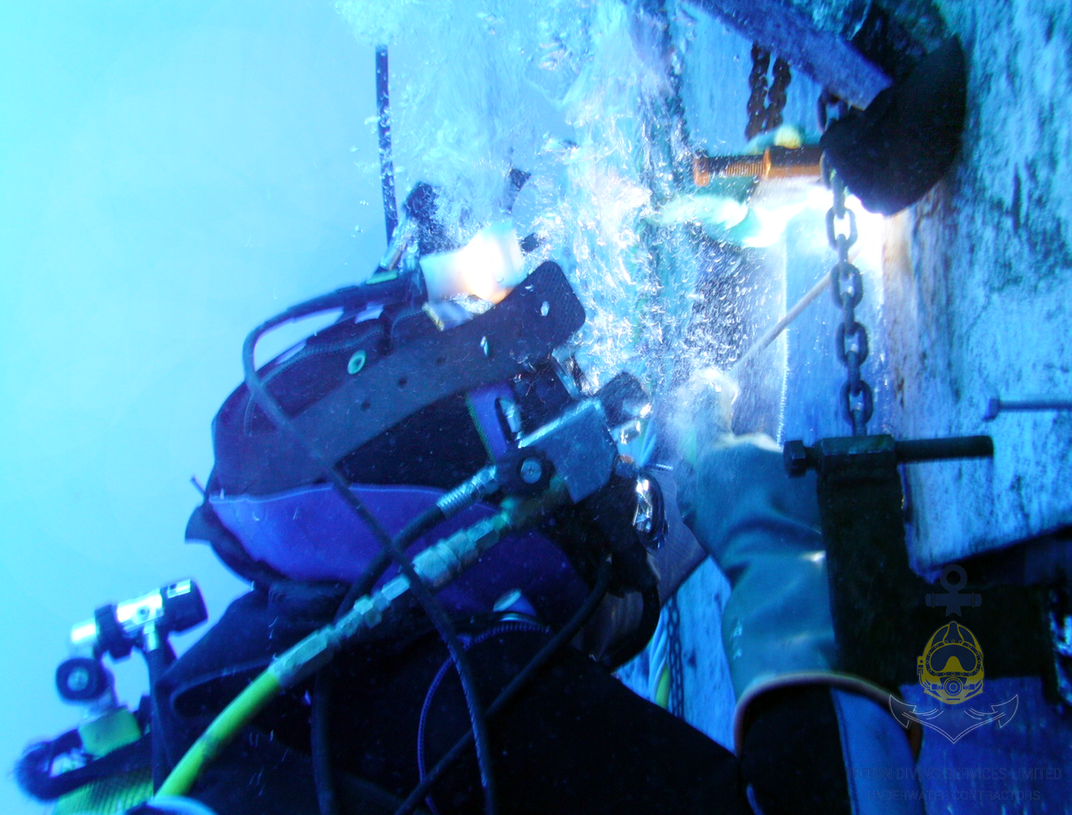 Underwater Repairs and Maintenance - Welding